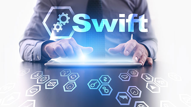 Blockchain: Swift enough?